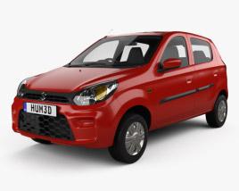 3D model of Suzuki Maruti Alto 800 2019