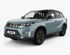 3D model of Suzuki Vitara Hybrid AllGrip 2020
