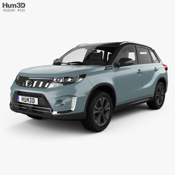 3D model of Suzuki Vitara Hybrid AllGrip 2020