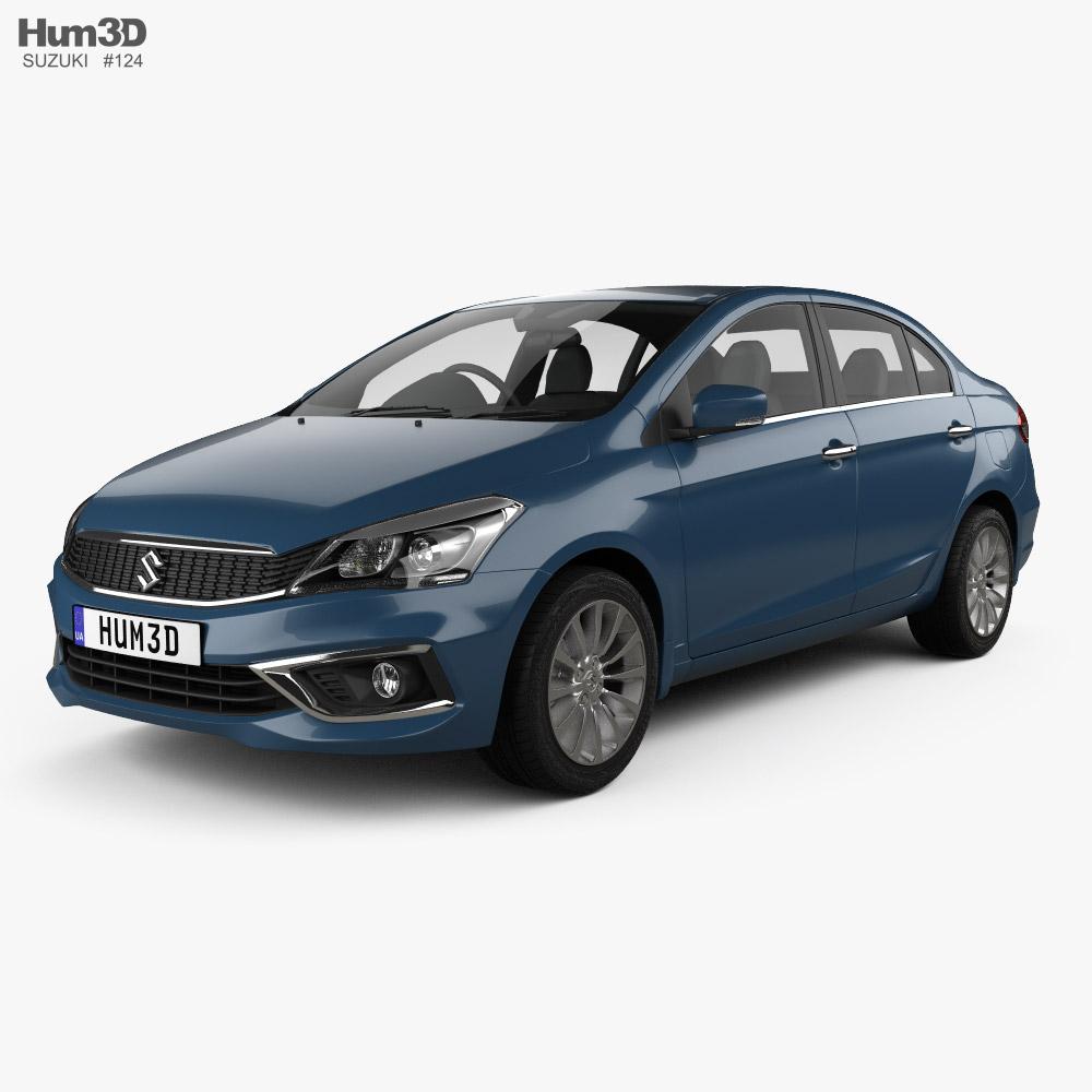 3D model of Suzuki Ciaz 2019
