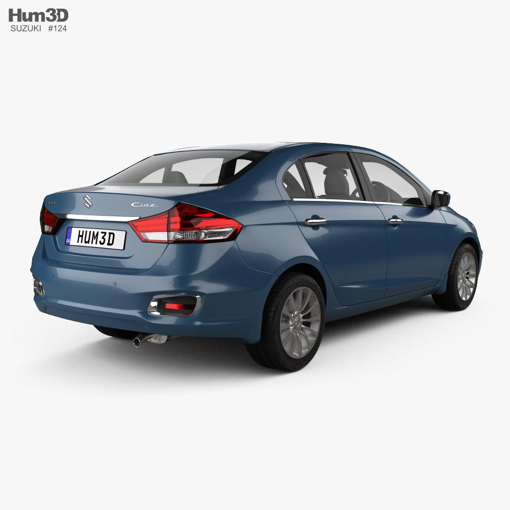 Suzuki Ciaz 2019 3d model