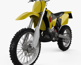 3D model of Suzuki RM125 2001