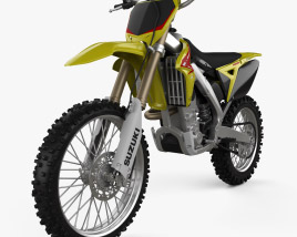 3D model of Suzuki RMZ250 2010