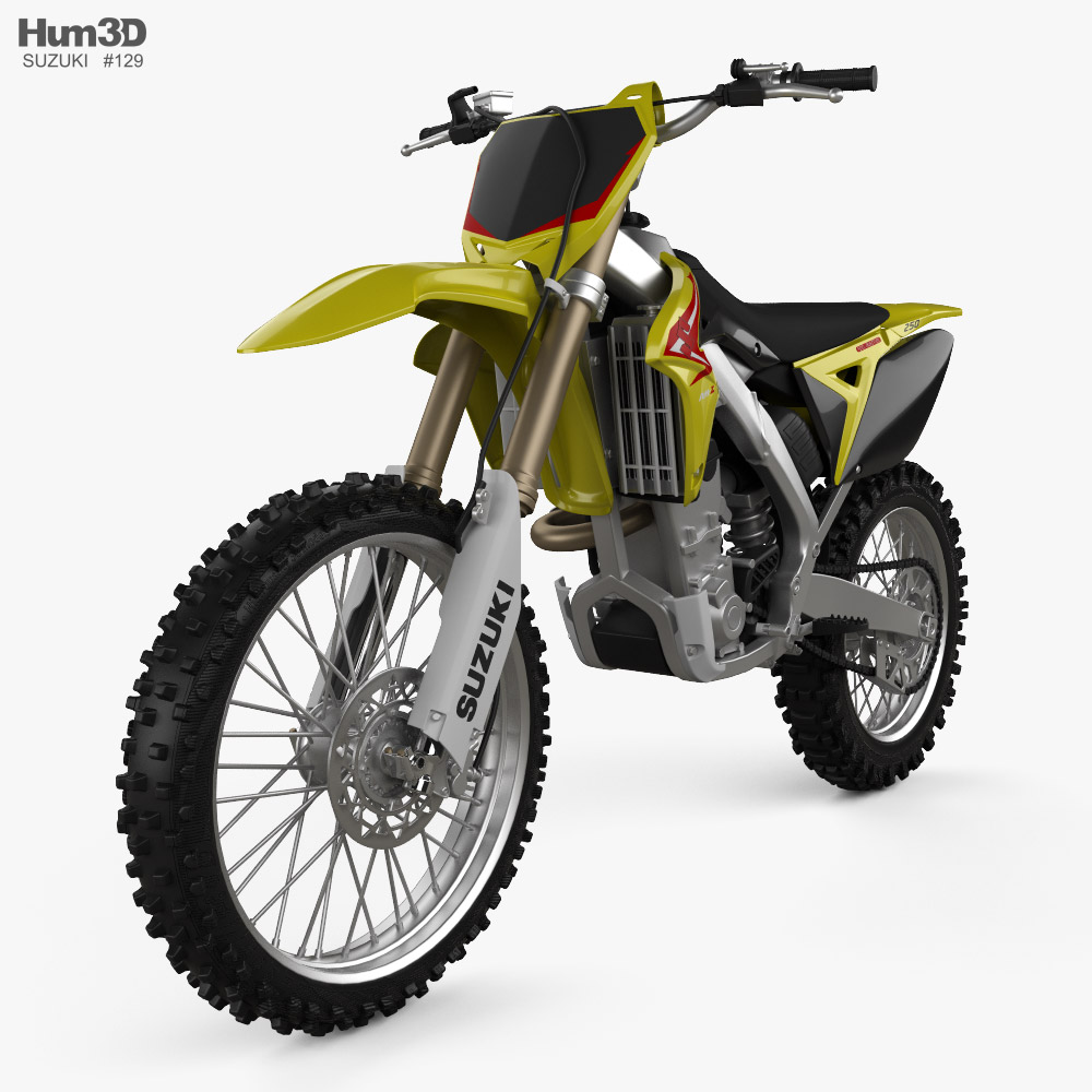 Suzuki RMZ250 2010 3D model