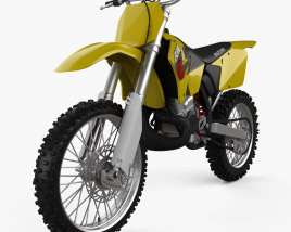 3D model of Suzuki RM250 2001