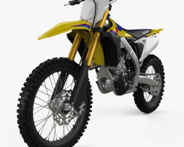 3D model of Suzuki RMZ250 2019