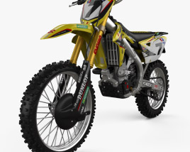 3D model of Suzuki RMZ450 2008