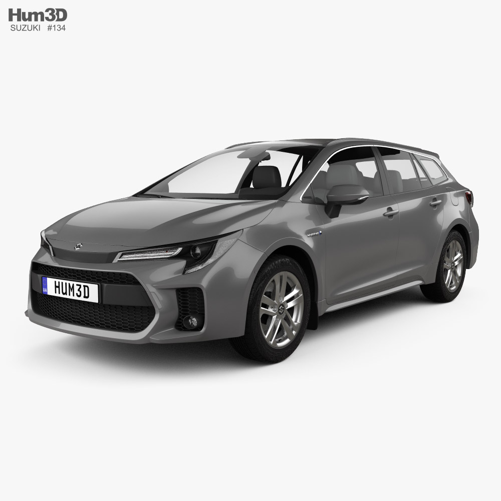 3D model of Suzuki Swace 2020