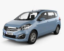 Suzuki Ertiga 2016 3D model
