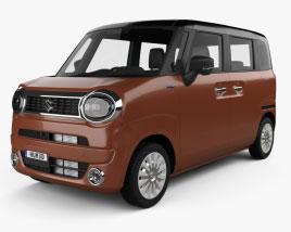 Suzuki Wagon R Smile hybrid 2021 Modelo 3D