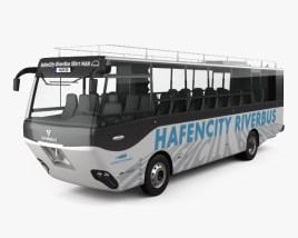 3D model of Swimbus Hafencity Riverbus 2016