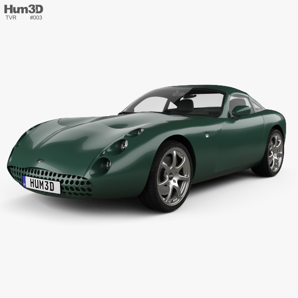 3D model of TVR Tuscan Speed Six 1999