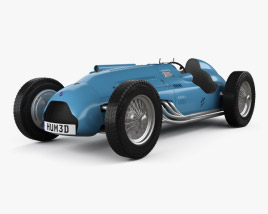 3D model of Talbot-Lago T26C 1948