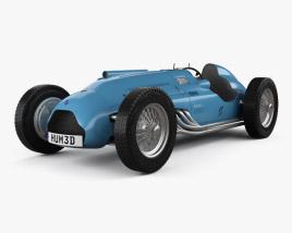 Talbot-Lago T26C 1948 3D model