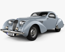 3D model of Talbot-Lago Teardrop Coupe 1938