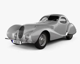 Talbot Lago T150 SS Figoni et Falaschi Teardrop Coupe 1938 3D model