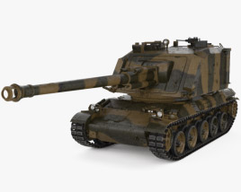 3D model of AMX-30 AuF1