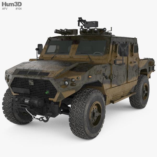 Ajban 440A 3D model