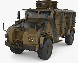 3D model of BMC Kirpi MRAP