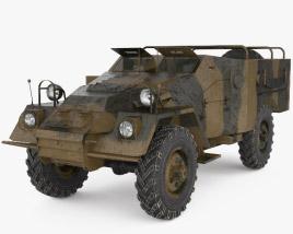 3D model of BTR-40