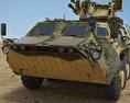 BTR-4 3d model
