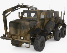 Buffalo Mine Protected Vehicle 3D model