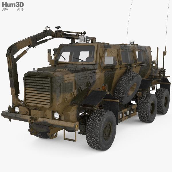 Buffalo Mine Protected Vehicle 3D model