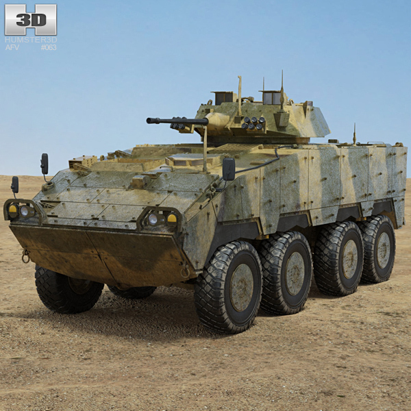 3D model of CM-32 Armoured Vehicle