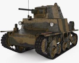 3D model of Carro Armato L6/40