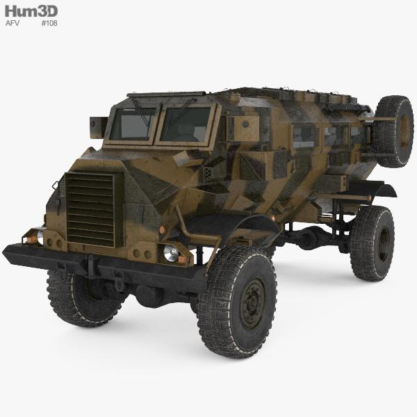 Casspir MRAPV 3D model