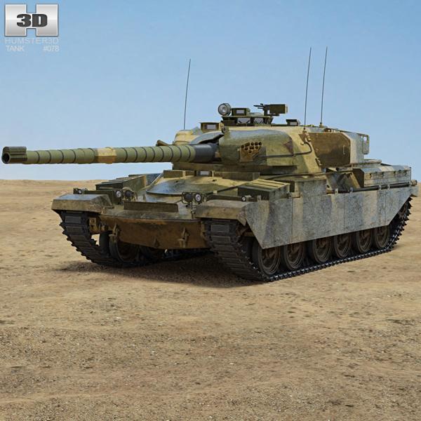 Chieftain Tank 3D model