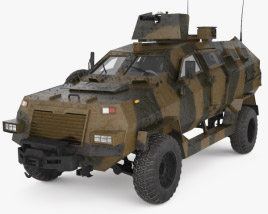 Didgori-2 Special Operations Vehicle 3D model