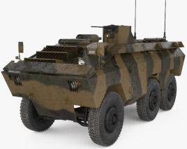 3D model of EE-11 Urutu