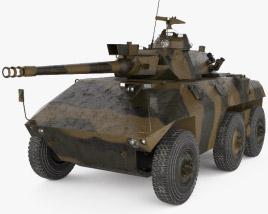 3D model of EE-9 Cascavel
