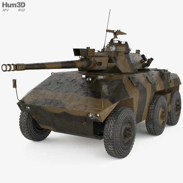 EE-9 Cascavel 3D model