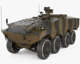 3D model of Eitan AFV