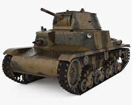 3D model of Fiat M13/40