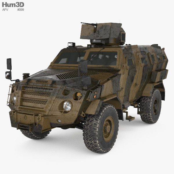 First Win Infantry Mobility Vehicle 3D model