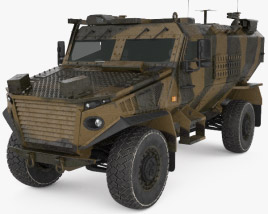 3D model of Force Protection Ocelot