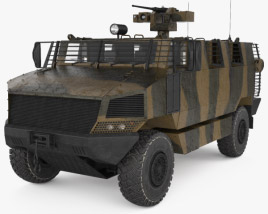 3D model of Golan MRAP