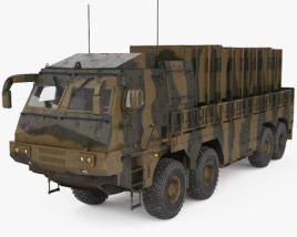 3D model of Hyunmoo-2