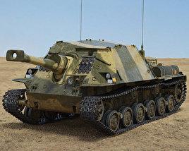 Infanterikanonvagn 103 3D model