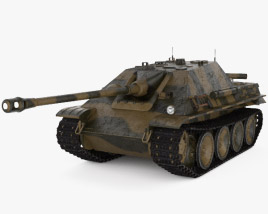 3D model of Jagdpanther