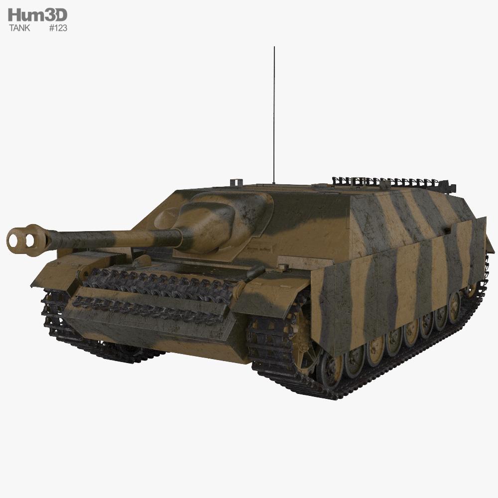 Jagdpanzer IV Tank Destroyer 3D model