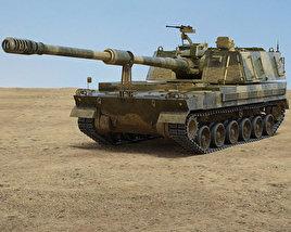 3D model of K9 Thunder