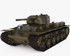 3D model of KV-1S