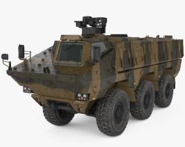 3D model of KamAZ-63969