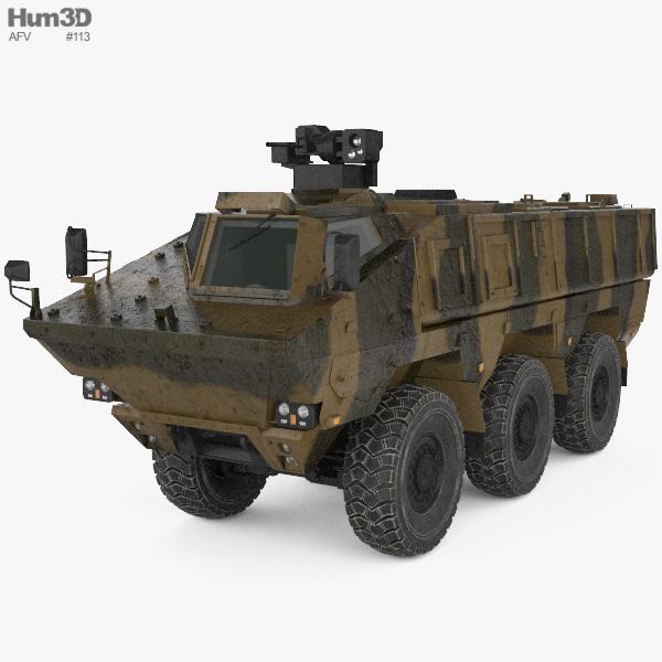 KamAZ-63969 Typhoon 3D model
