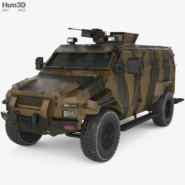 KrAZ Spartan 3D模型