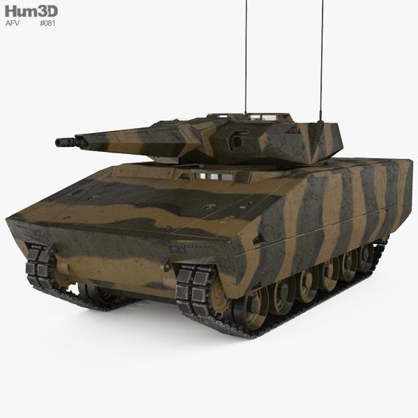 Lynx KF41 3D model
